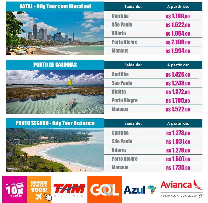 Baixa temporada Brasil 2016 - O melhor do nordeste brasileiro!